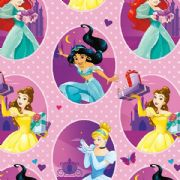 Disney Princess 2m Roll Wrap